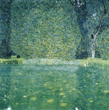 The Park of Schloss Kammer am Attersee | Gustav Klimt | oil painting