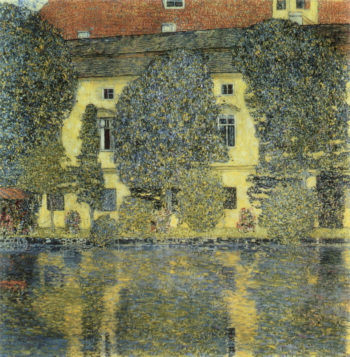 The Schloss Kammer on the Attersee III | Gustav Klimt | oil painting