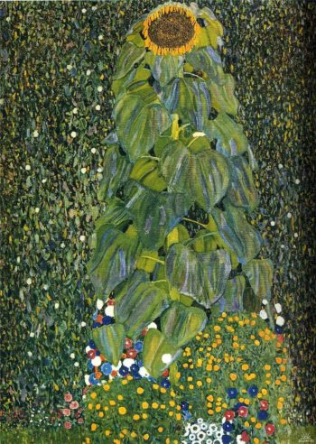 The Sunflower | Gustav Klimt | oil painting