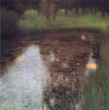 The Swamp | Gustav Klimt | oil painting