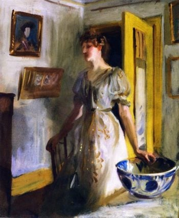 The Blue Bowl | John Singer Sargent | oil painting