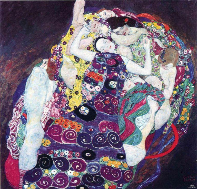 The Virgin | Gustav Klimt | oil painting