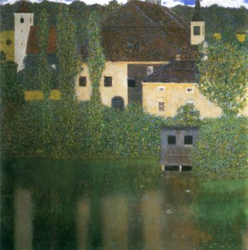 Water Castle 1 | Gustav Klimt | oil painting