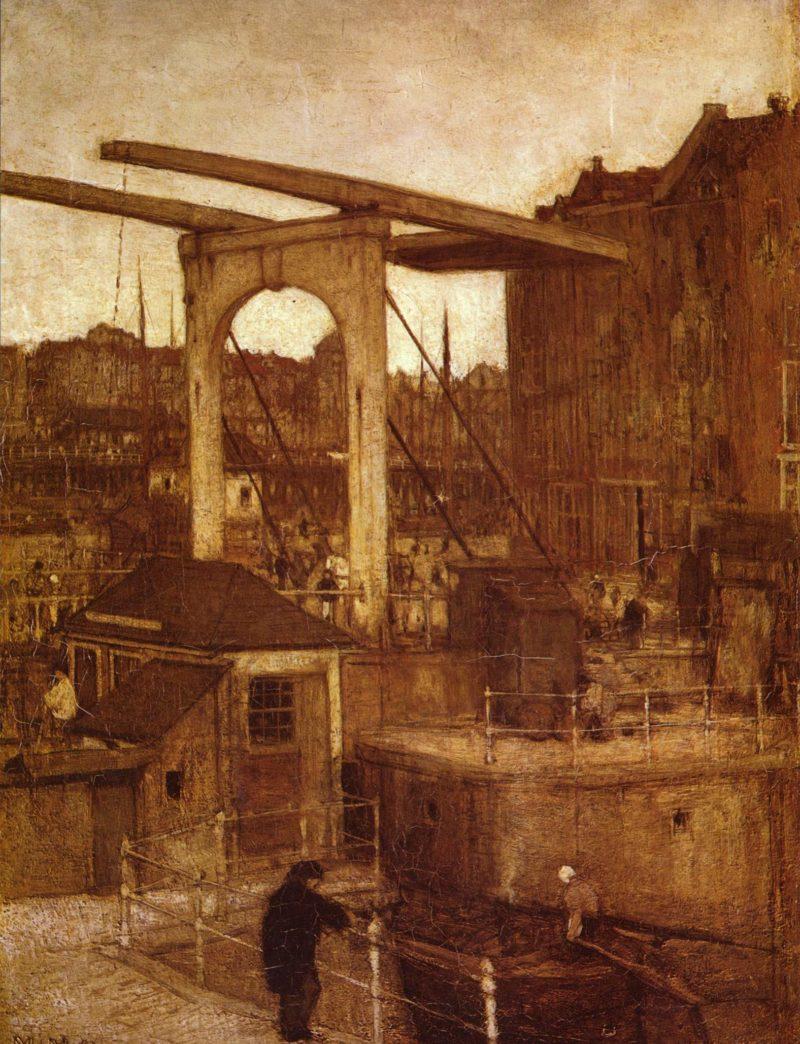 Blick auf Amsterdam | Jacob Maris | oil painting