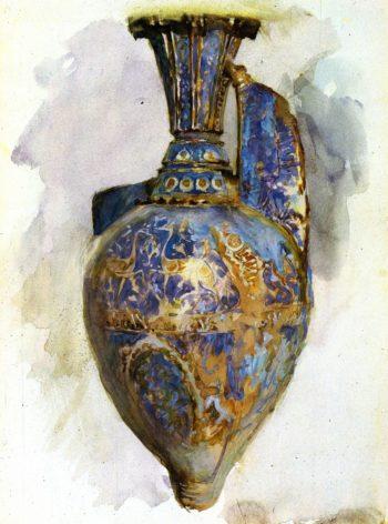 The Alhambra Vase | John Singer Sargent | oil painting