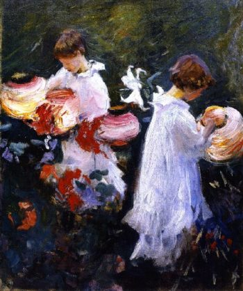 Carnation Lily Lily Rose 3 | John Singer Sargent | oil painting