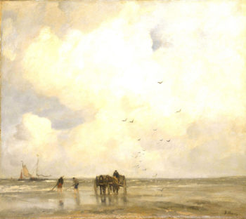 Shell Fishers | Jacob Maris | oil painting