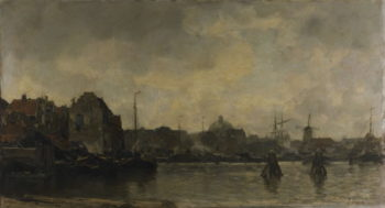 Stadsgezicht 1 | Jacob Maris | oil painting