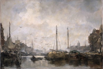 Stadsgezicht | Jacob Maris | oil painting