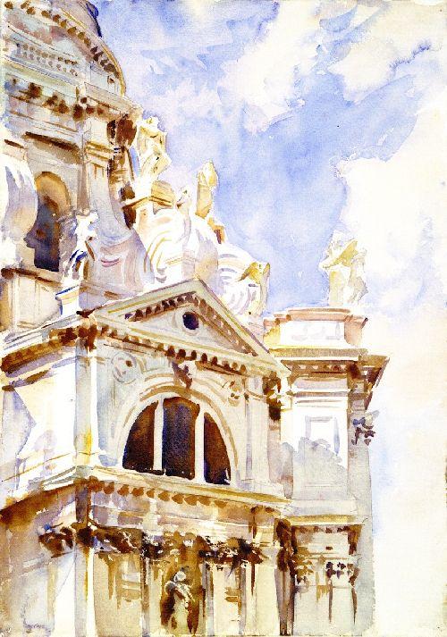The Salute Venice | John Singer Sargent | oil painting
