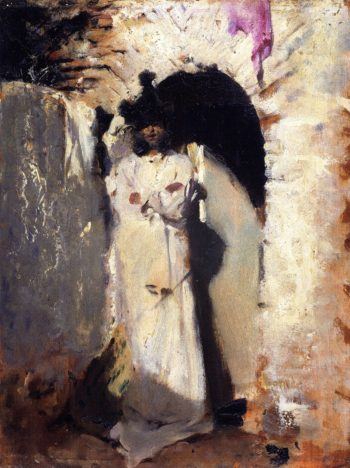 A Spanish Figure | John Singer Sargent | oil painting