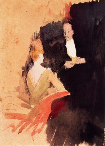 The Conversation | Jean Louis Forain | oil painting