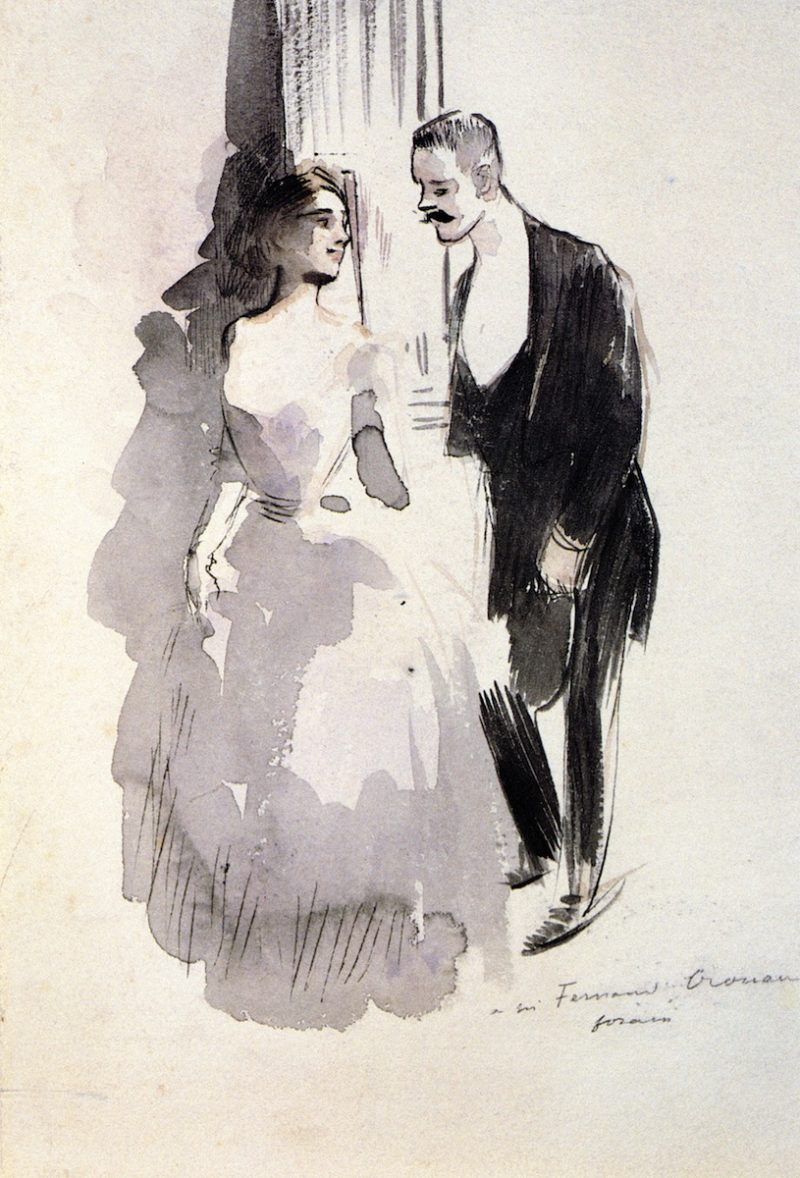 The Invitation | Jean Louis Forain | oil painting