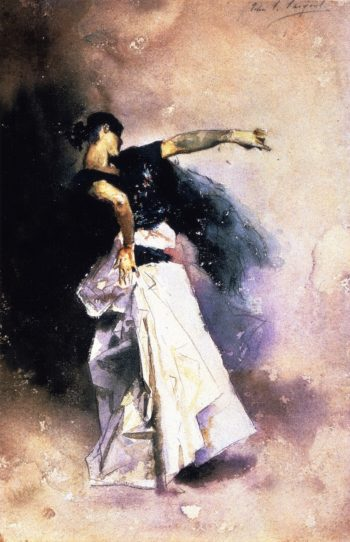 Spanish Dancer | John Singer Sargent | oil painting