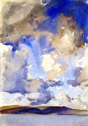 Clouds | John Singer Sargent | oil painting