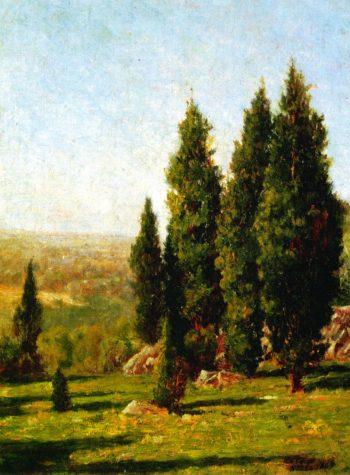 Landscape Nikko | John La Farge | oil painting