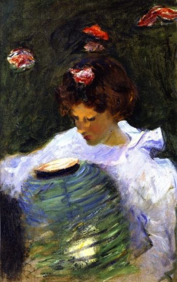Carnation Lily Lily Rose   John Singer Sargent   oil painting