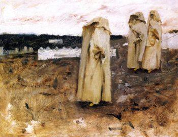 Bedouin Women | John Singer Sargent | oil painting