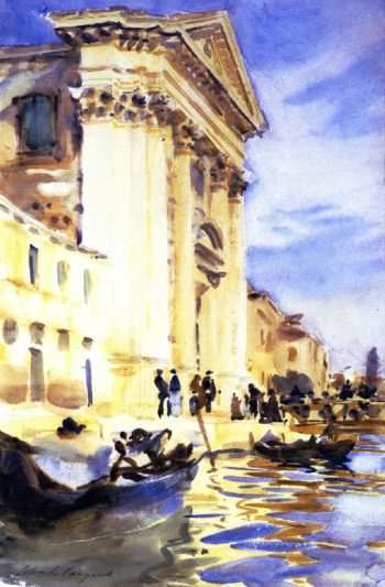 I Gesuati | John Singer Sargent | oil painting
