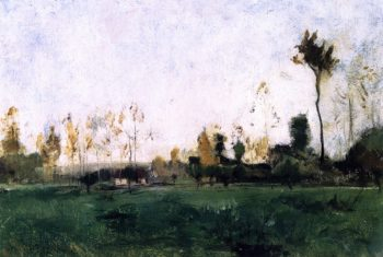 Spring Landscape | John Twachtman | oil painting
