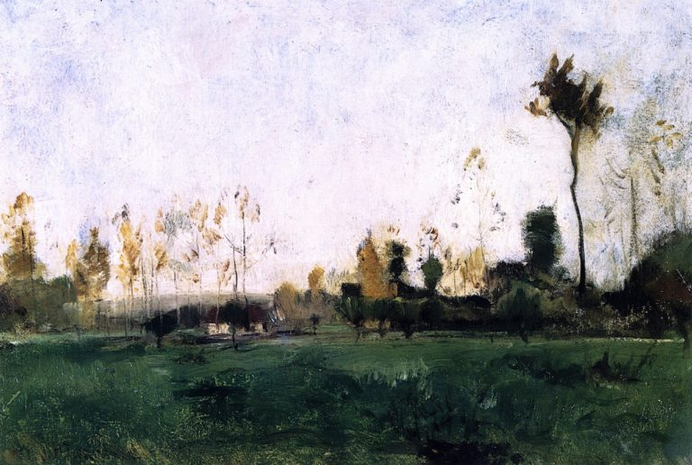 Spring Landscape | John Twachtman | oil painting