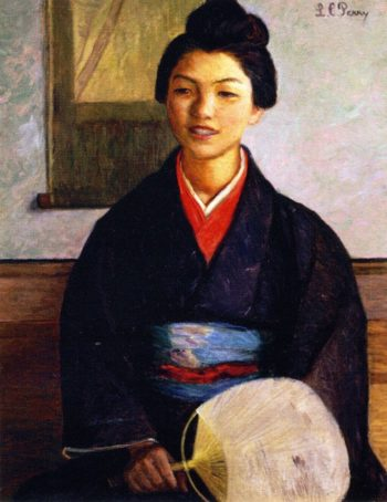 Japanese Girl | Lilla Cabot Perry | oil painting