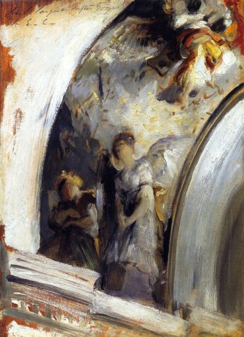 Angels in a Transept | John Singer Sargent | oil painting