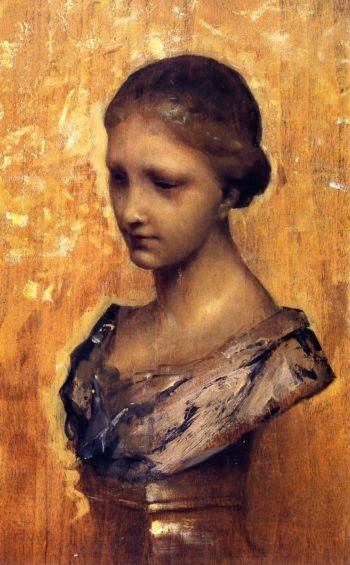 Study of a Bust at Lille | John Singer Sargent | oil painting
