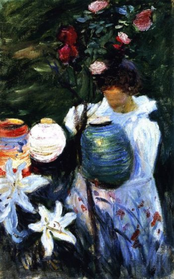 Carnation Lily Lily Rose 2 | John Singer Sargent | oil painting