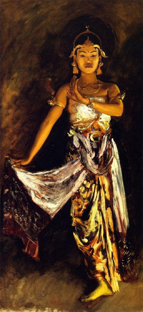 A Javanese Dancer 1 | John Singer Sargent | oil painting