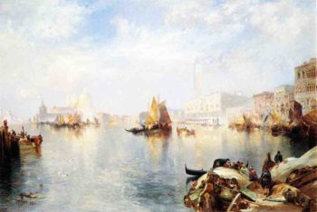 Venetian Grand Canal | Thomas Moran | oil painting
