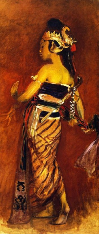 A Javanese Dancing Girl | John Singer Sargent | oil painting