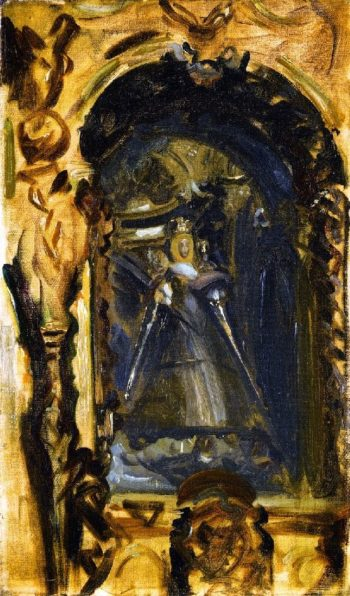 Spanish Madonna and Child | John Singer Sargent | oil painting