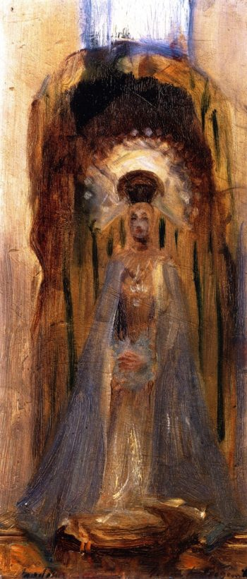A Spanish Madonna | John Singer Sargent | oil painting
