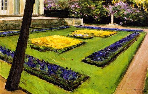 Terrace in the Garden near the Wannsee toward Northwest | Max Liebermann | oil painting