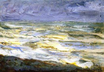 Surf Marine Study | Max Liebermann | oil painting