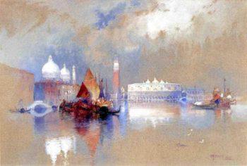 View of Venice | Thomas Moran | oil painting