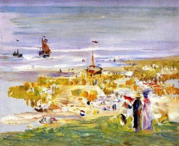 The Beach at Scheveningen | Max Liebermann | oil painting