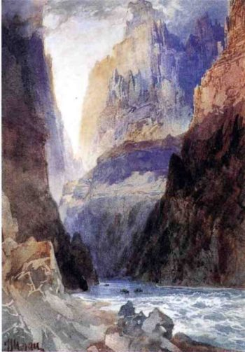 Zion Canyon | Thomas Moran | oil painting
