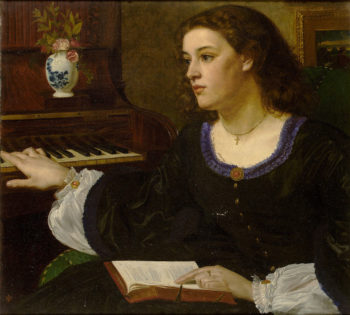 A day dream | Sir Edward John Poynter | oil painting