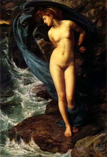 Andromeda | Sir Edward John Poynter | oil painting