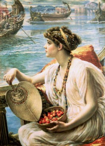 A Roman Boat Race | Sir Edward John Poynter | oil painting