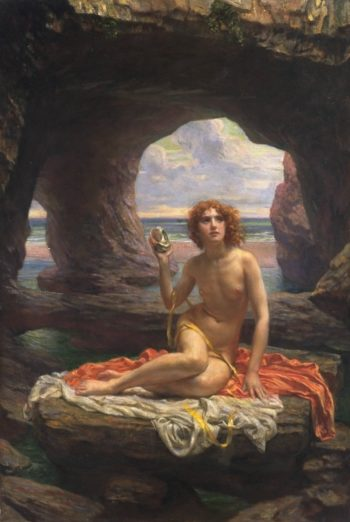At Low Tide | Sir Edward John Poynter | oil painting