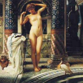 Diadumene | Sir Edward John Poynter | oil painting