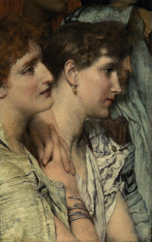 An Audience | Sir Lawrence Alma Tadema | oil painting