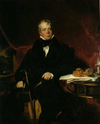 Sir Walter Scott | Sir Thomas Lawrence | oil painting