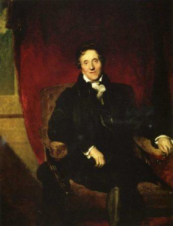 Sir John Soane RA 1753 1837 | Sir Thomas Lawrence | oil painting