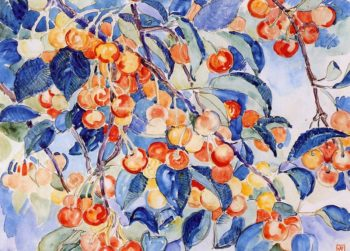 Cherries | Theo van Rysselberghe | oil painting