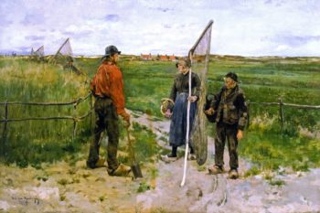 In West Flanders | Theo van Rysselberghe | oil painting