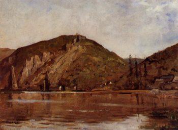 La Meuse aux environs de Namur | Theo van Rysselberghe | oil painting